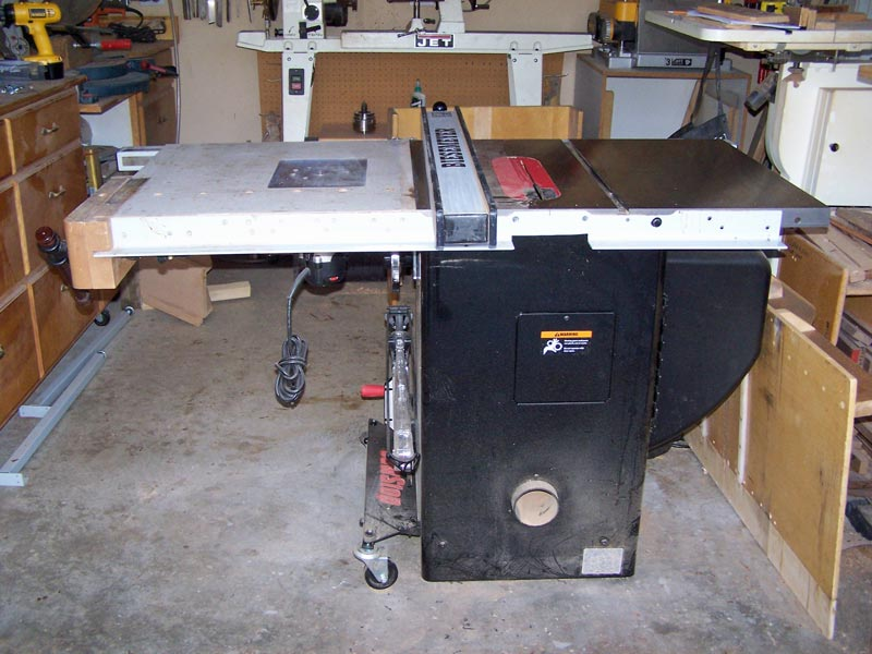 Sawstop setup next i need to do the outfeed table and put the legs under the wing wing installed greentooth Choice Image