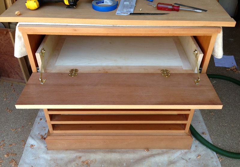 Cabinet for Trays 2