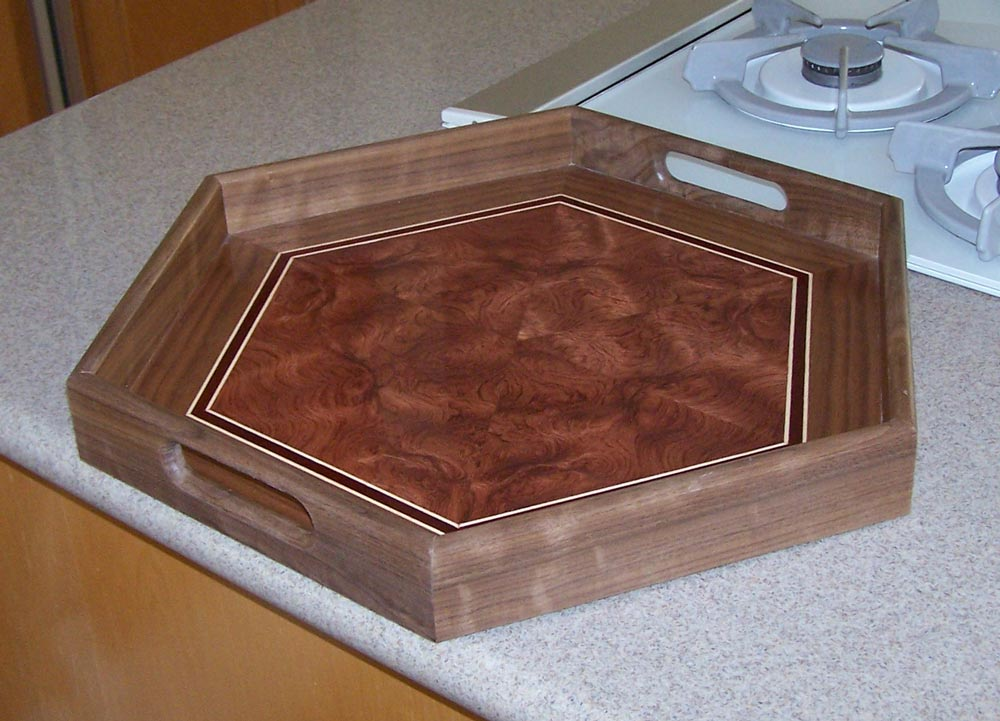 One represeentative tray